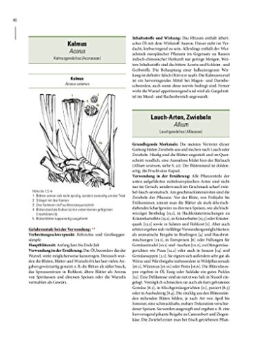 Enzyklopädie essbare Wildpflanzen. 2000 Pflanzen Mitteleuropas. Bestimmung, Sammeltipps, Inhaltsstoffe, Heilwirkung, Verwendung in der Küche - 5