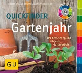 Quickfinder Gartenjahr: Der beste Zeitpunkt für jede Gartenarbeit (GU Garten Extra) - 1