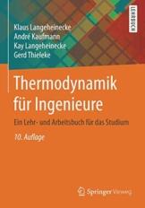 Thermodynamik für Ingenieure: Ein Lehr- und Arbeitsbuch für das Studium - 1