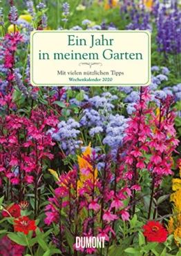 Ein Jahr in meinem Garten – Wochenkalender 2020 – Garten-Kalender mit 53 Blatt – Format 21,0 x 29,7 cm – Spiralbindung: Mit vielen nützlichen Tipps - 1