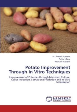 Potato Improvement Through In Vitro Techniques: Improvement of Potatoes through Meristem Culture, Callus Induction, Somaclonal Variation and In Vitro Tuberization - 1