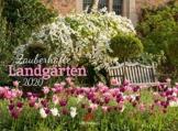 Zauberhafte Landgärten 2020, Wandkalender im Querformat (45x33 cm) - Gartenkalender mit Monatskalendarium - 1