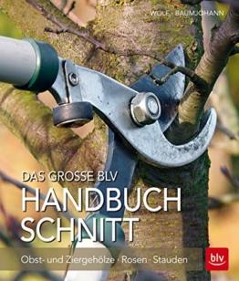 Das große BLV Handbuch Schnitt: Obst- und Ziergehölze - Rosen - Stauden
