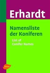 Namensliste der Koniferen. List of Conifer Names