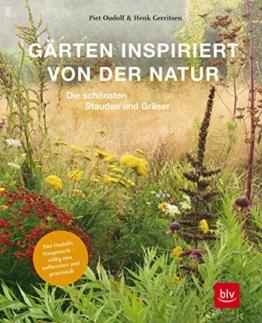 Gärten inspiriert von der Natur: Die schönsten Stauden und Gräser. Button: Piet Oudolfs Hauptwerk – völlig neu aufbereitet und praxisnah (Gartengestaltung)