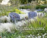 Gartenträume 2021: Großer Wandkalender. Foto-Kunstkalender zum Thema Gärten. PhotoArt Kalender im Querformat. 55 x 45,5 cm - 1